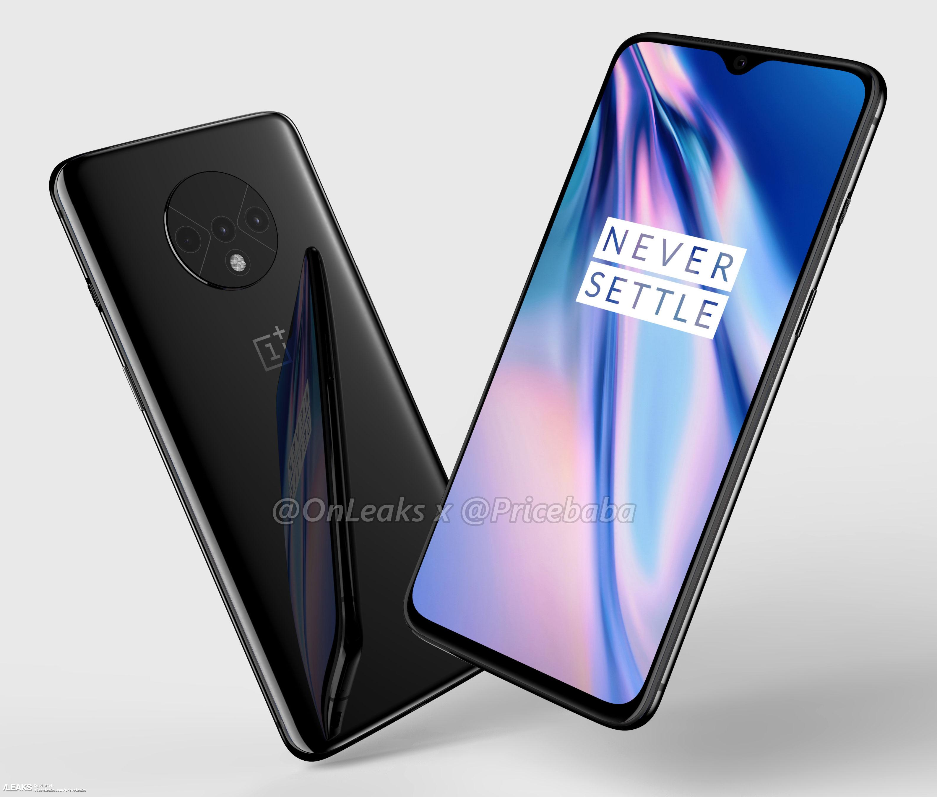 oneplus 7t 360 degree renders by768