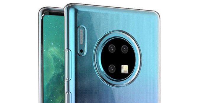 thuawei mate 30 pro rendered by case maker 175