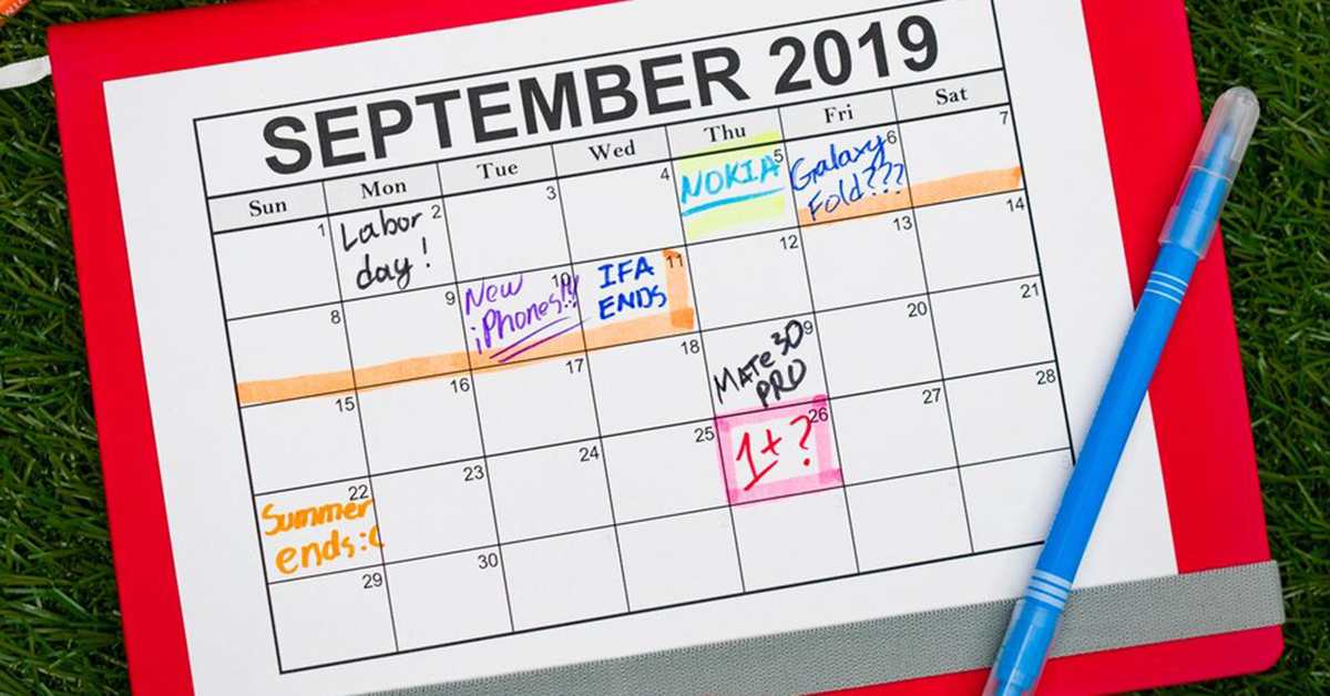 All the smartphone announcements worth paying attention to in September 2019