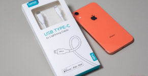 Review ChoeTech USB C to Lightning 2M SpecPhone 0001