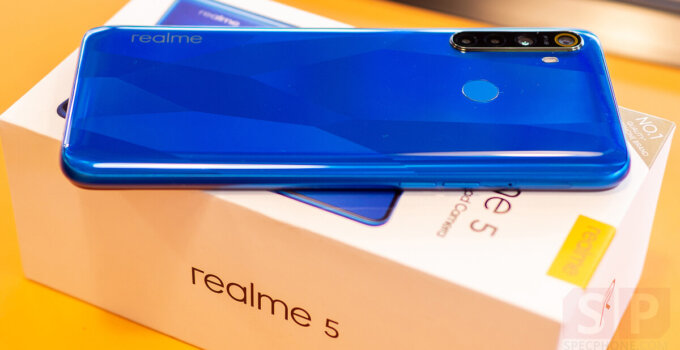 Review realme 5 SpecPhone 10