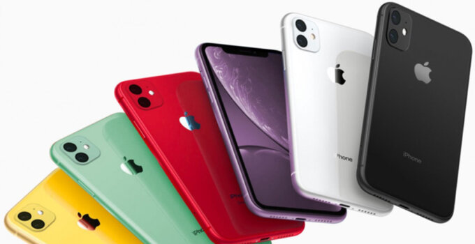 iphone 11r color options red yellow white black green lavender 1