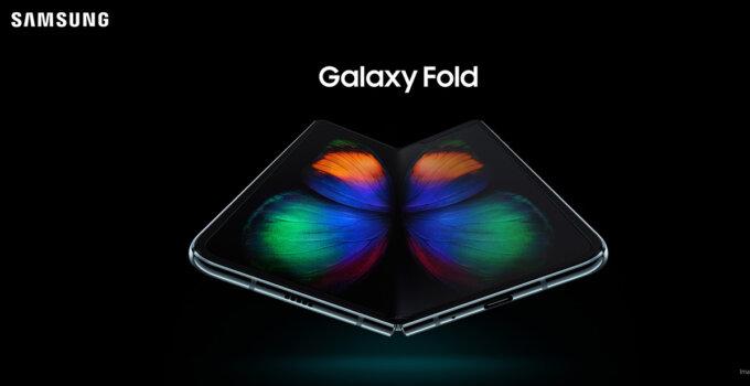 Galaxy Fold Silver Cover