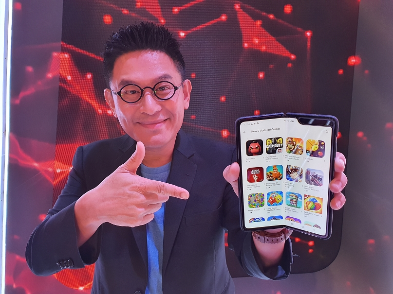 Samsung Galaxy Fold Be the first 6.