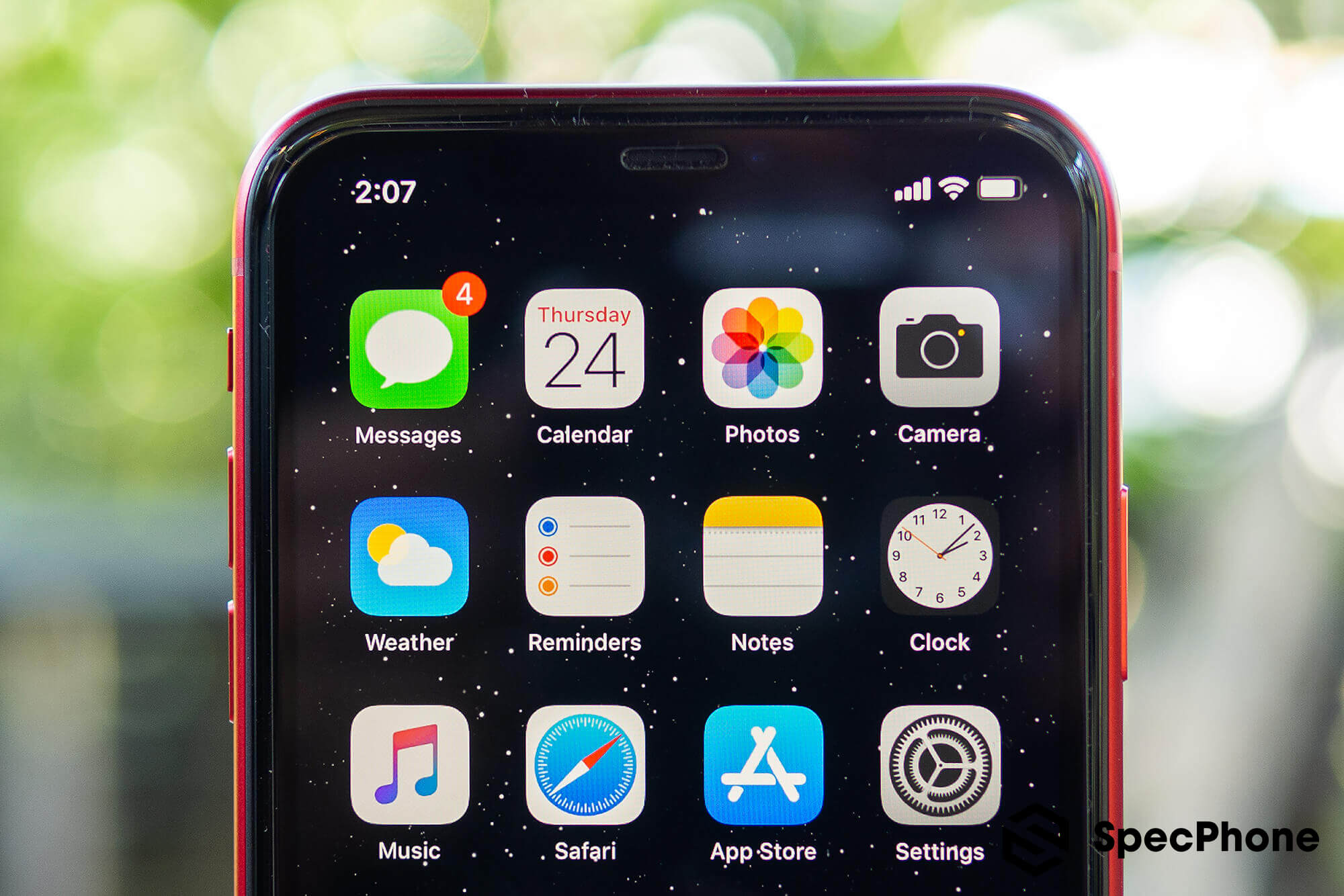 Review Apple iPhone 11 Product Red SpecPhone 30