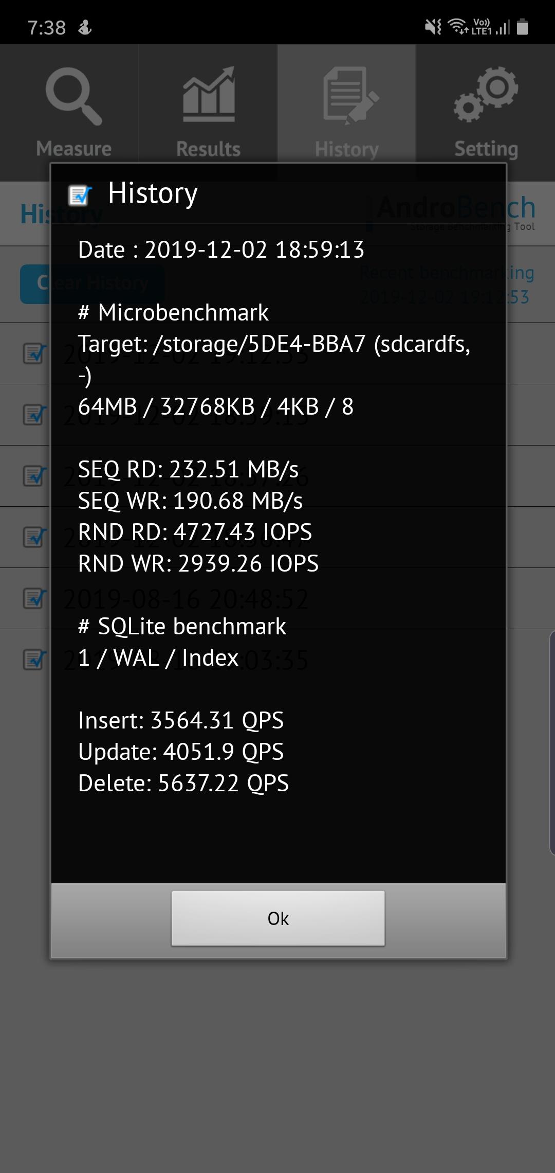 DiskSpeedTest CHOETech SSD 002