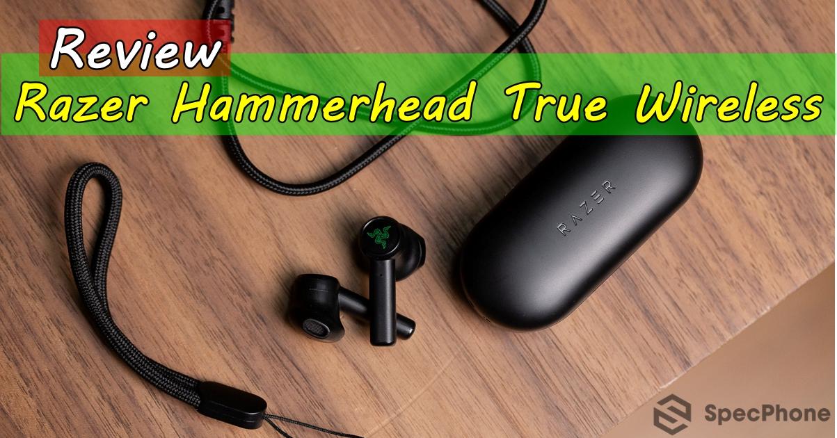Review Razer Hammerhead True Wireless SpecPhone cover