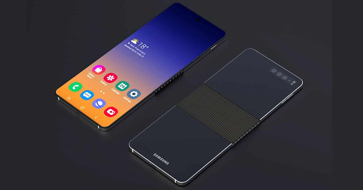Samsung Galaxy Fold 2 concept image featured