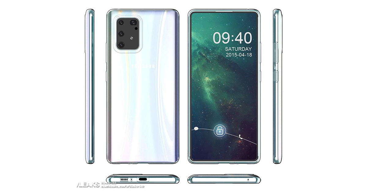 galaxy s10 lite case matches previously leaked design 413