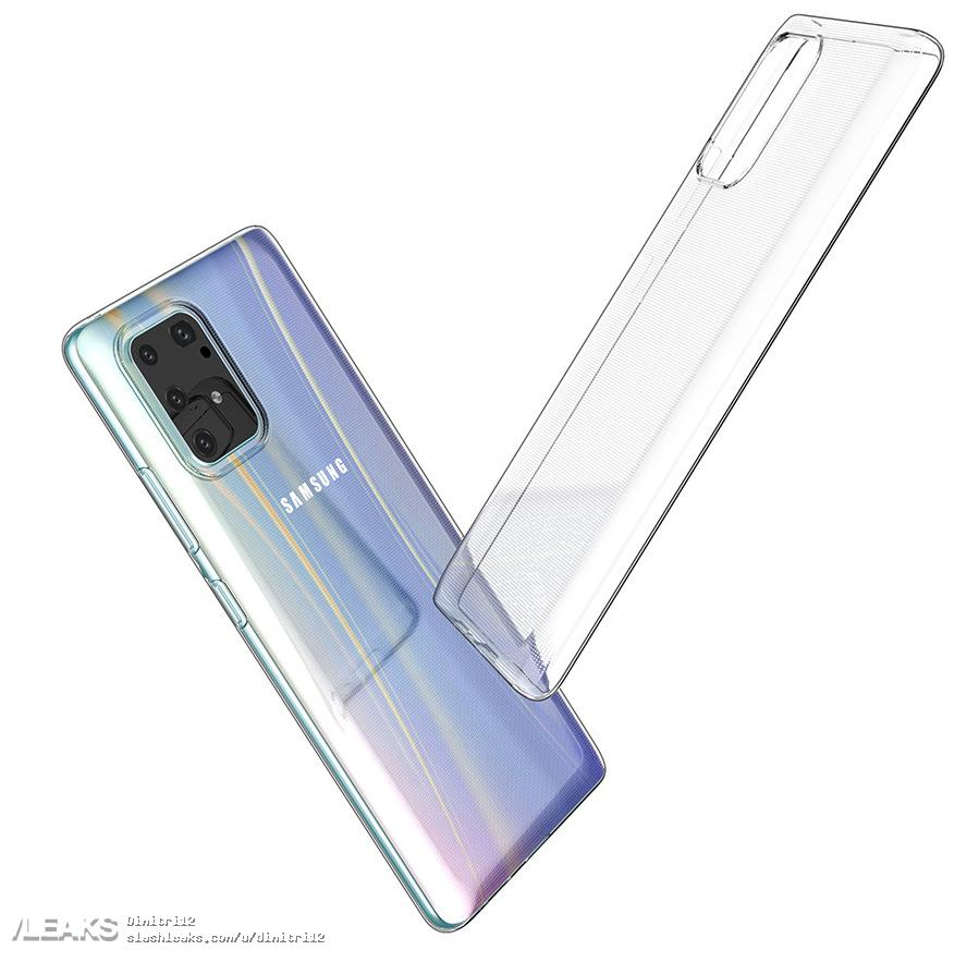 galaxy s10 lite case matches previously leaked design