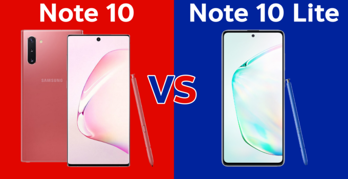 note10 vs note10lite