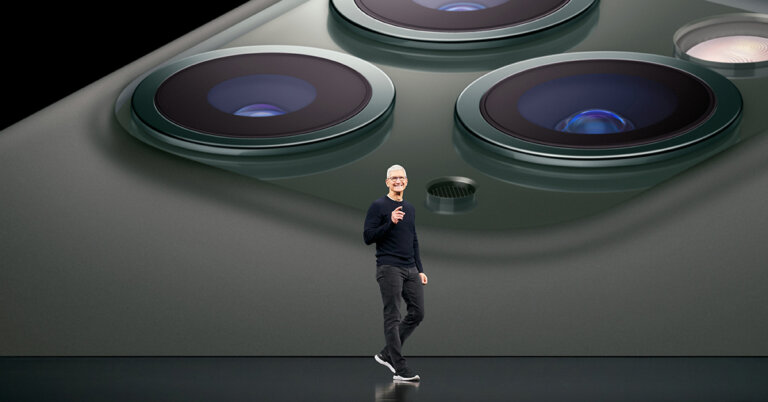 Apple Keynote Event Tim Cook 091019