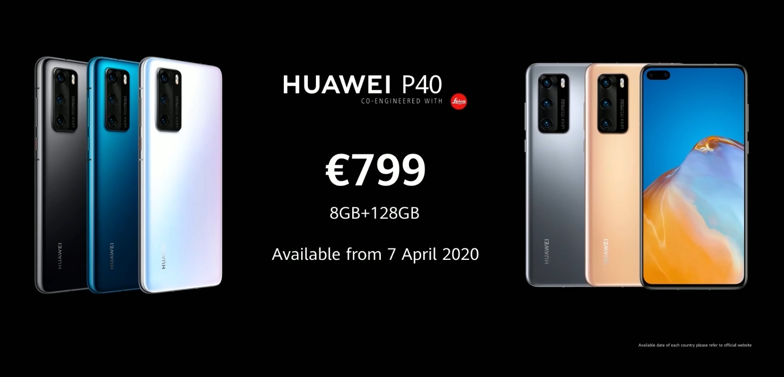 HUAWEI P40 Series Launched Price SpecPhone 00001