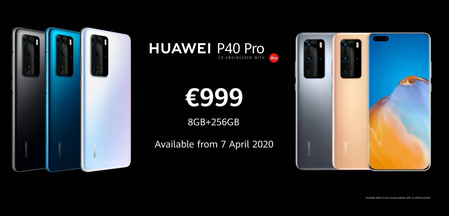 HUAWEI P40 Series Launched Price SpecPhone 00002