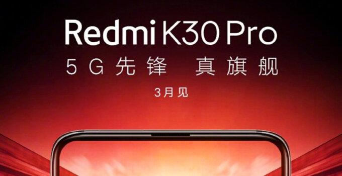 Redmi K30 Pro poster