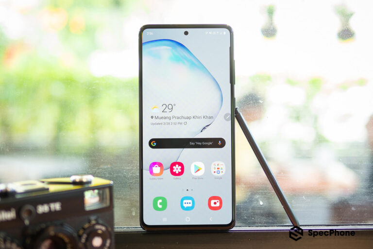 Review Samsung Galaxy Note 10 Lite SpecPhone 12