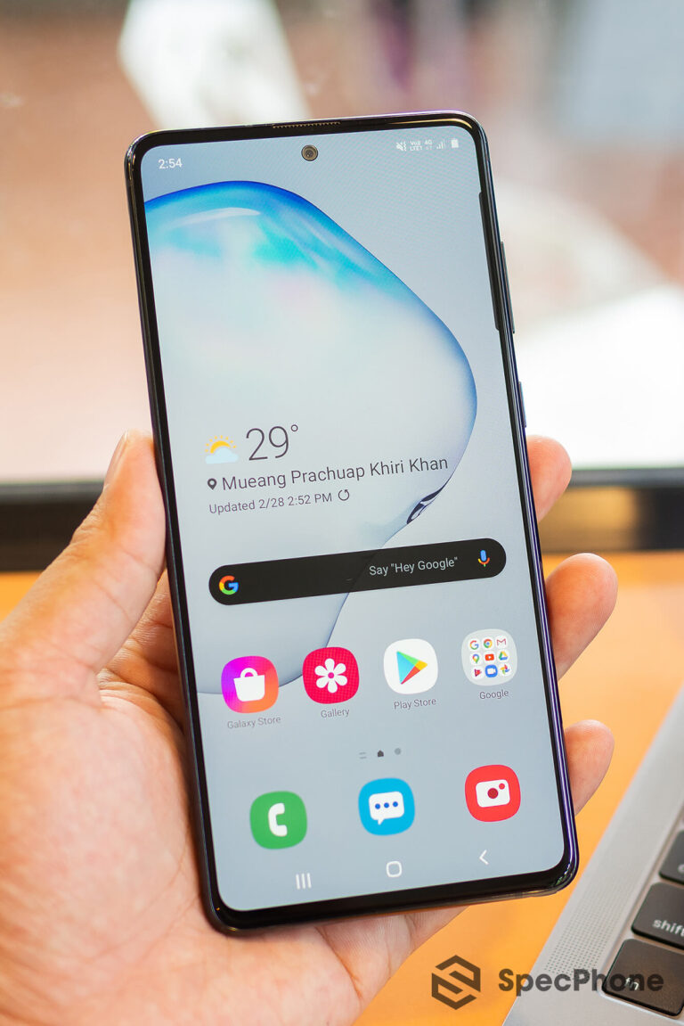 Review Samsung Galaxy Note 10 Lite SpecPhone 7