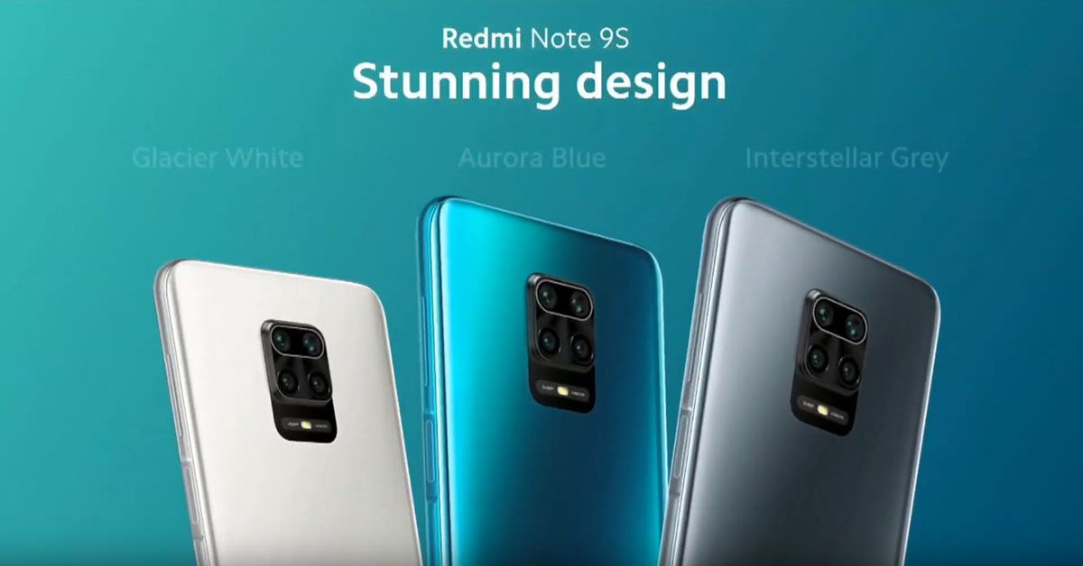 Redmi Note 9s ราคาพิเศษ 6,799 บาท เครื่องเปล่า ส่งฟรี เฉพาะที่ TopValue