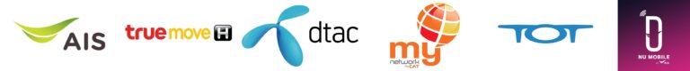 AIS DTAC TRUE MY TOT NU logo