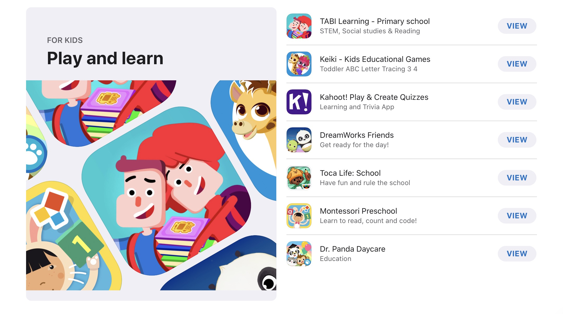 App Store Recommend Apps for Education 00001