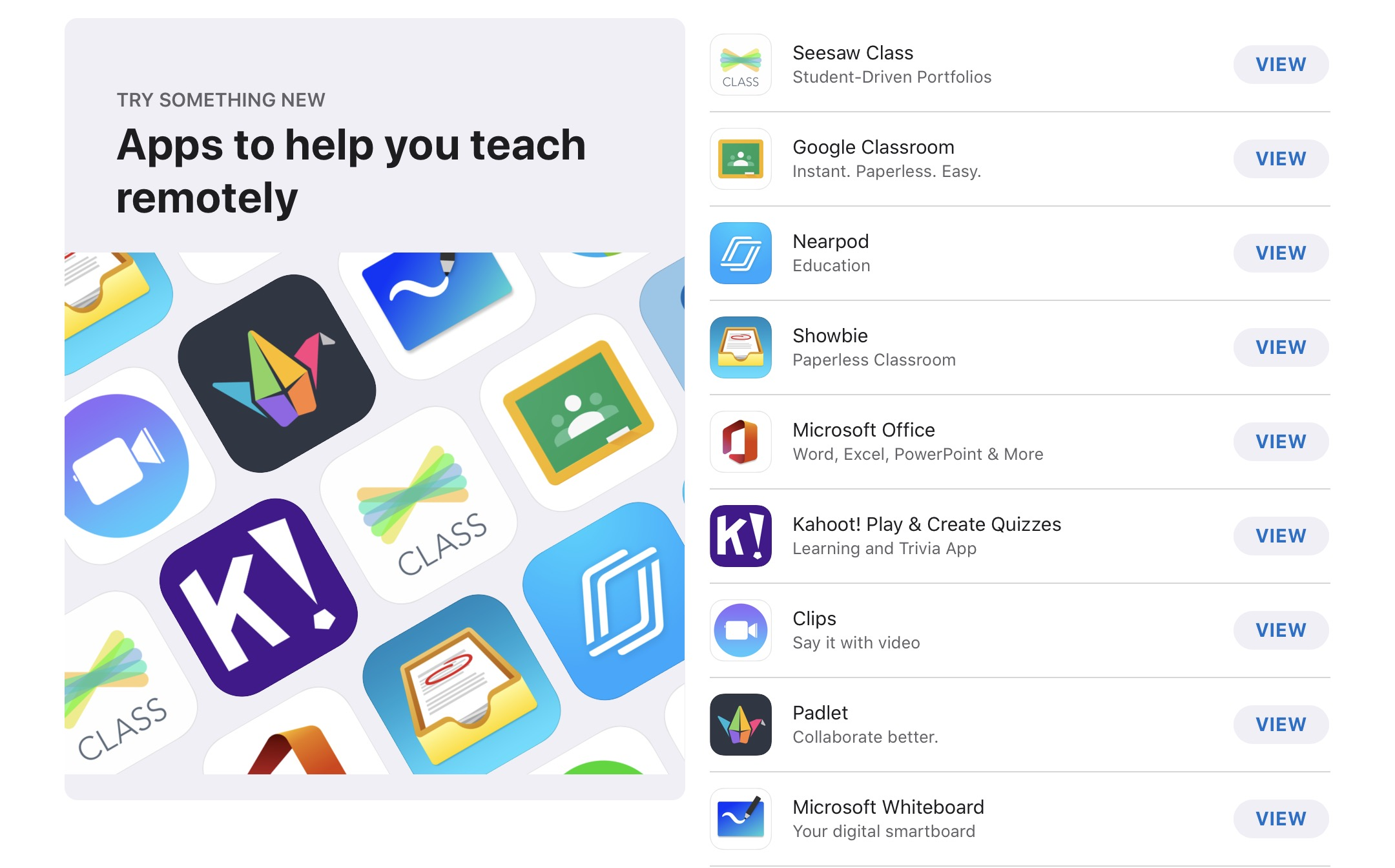App Store Recommend Apps for Education 00003