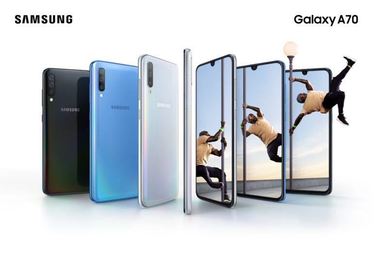Galaxy A70 Lifestyle
