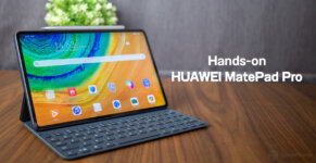 Hands on HUAWEI MatePad Pro SpecPhone Cover