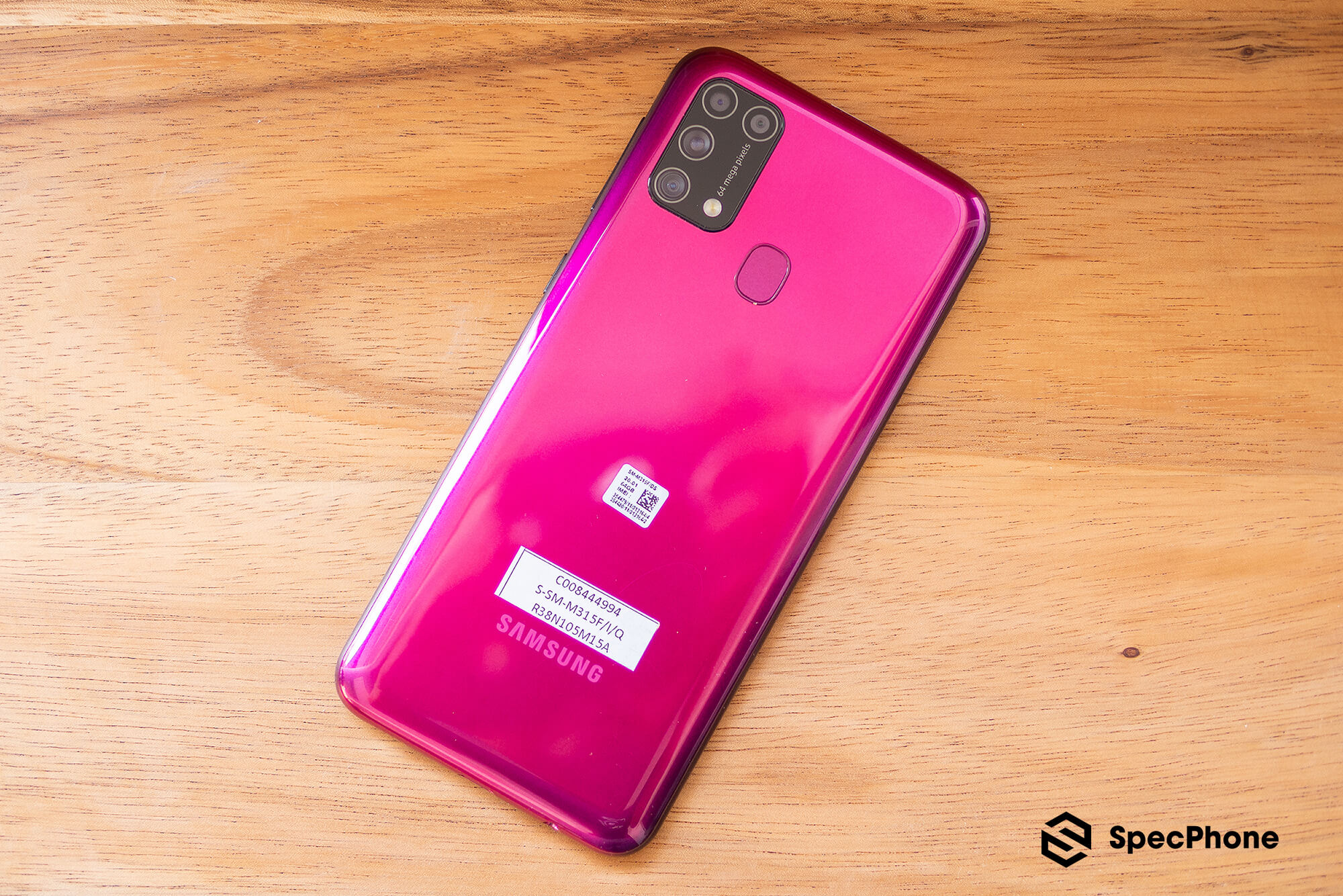 Review Samsung Galaxy M31 SpecPhone 14
