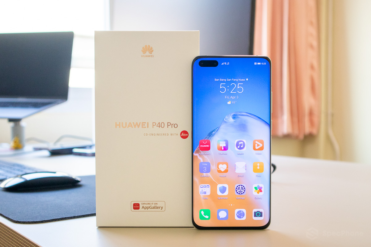 Unbox HUAWEI P40 Pro SpecPhone 0018