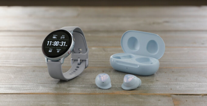 galaxy buds plus watchactive2