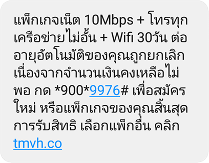 true sms net10mbps cutout