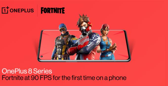 OnePlus 8 Fortnite