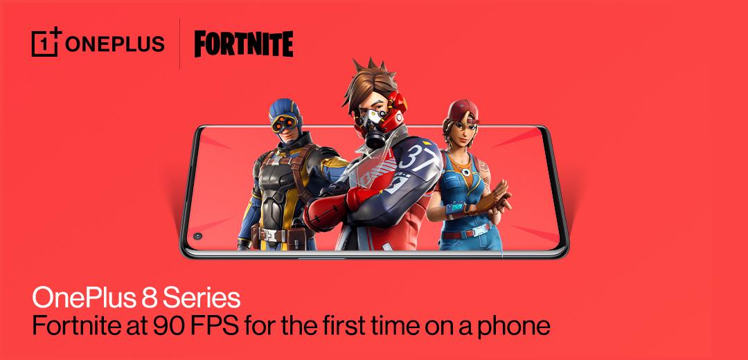 OnePlus 8 / 8 Pro รองรับการเล่นเกม Fortnite ที่ 90FPS แล้ว