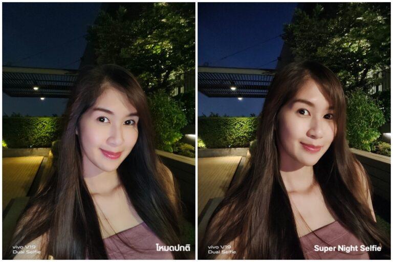 Vivo V19 Night Selfie vs normal Camera Compare 002