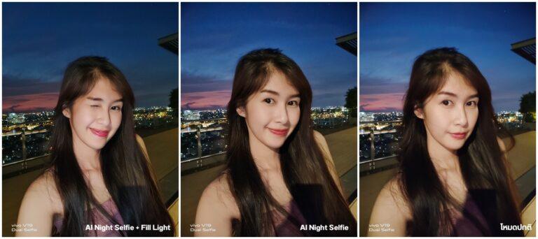 Vivo V19 Night Selfie vs normal Camera Compare 003