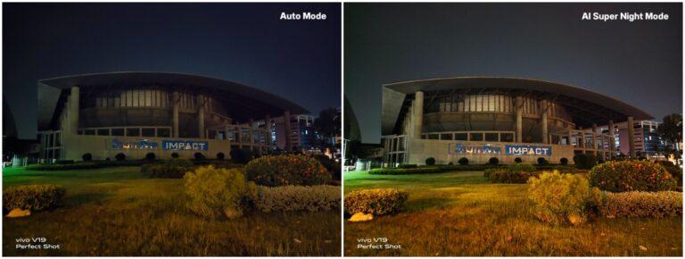 Vivo V19 Night Shot Rear Camera Compare
