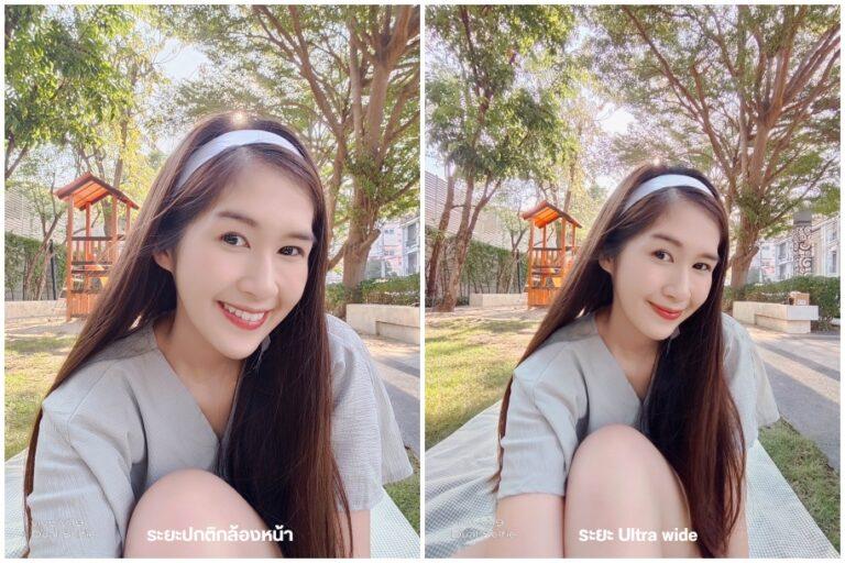 Vivo V19 Selfie vs Ultra wide Camera Compare