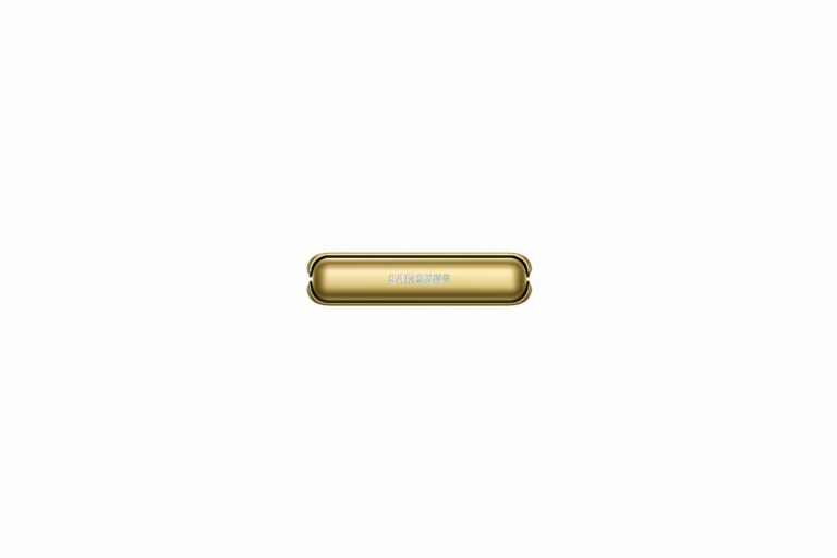 Galaxy Z Flip Hinge Mirror Gold. 1
