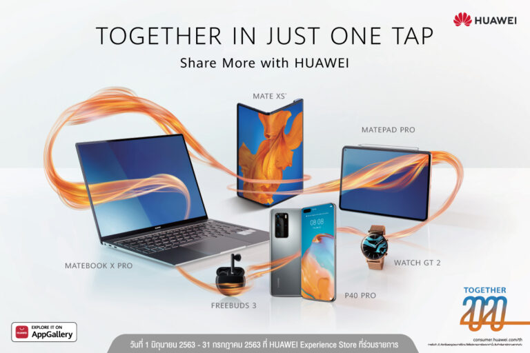 HUAWEI Together in just one tap KV2