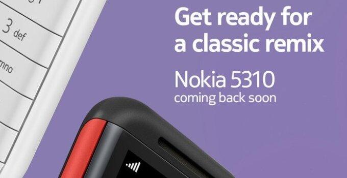 ใกล้แล้ว!! Nokia เตรียมเปิดตัว Nokia 5310 ในอินเดียแล้ว