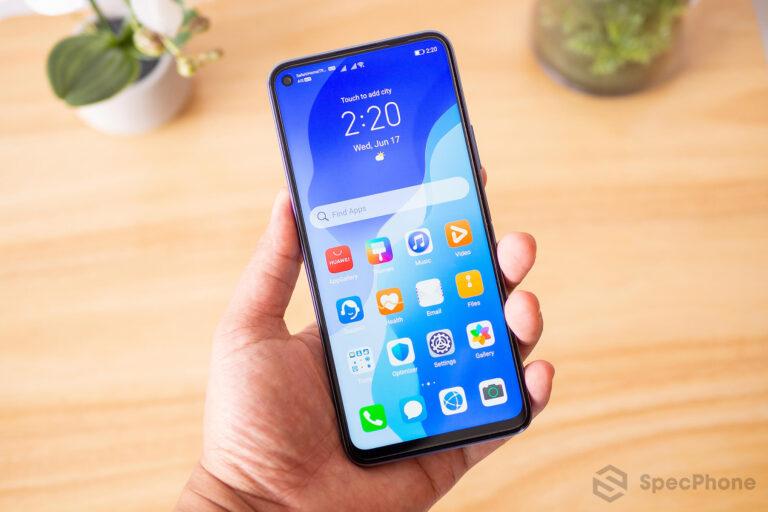 Review Huawei nova 7 SE SpecPhone 12