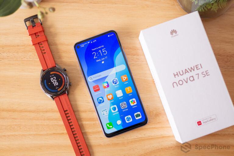 Review Huawei nova 7 SE SpecPhone 6