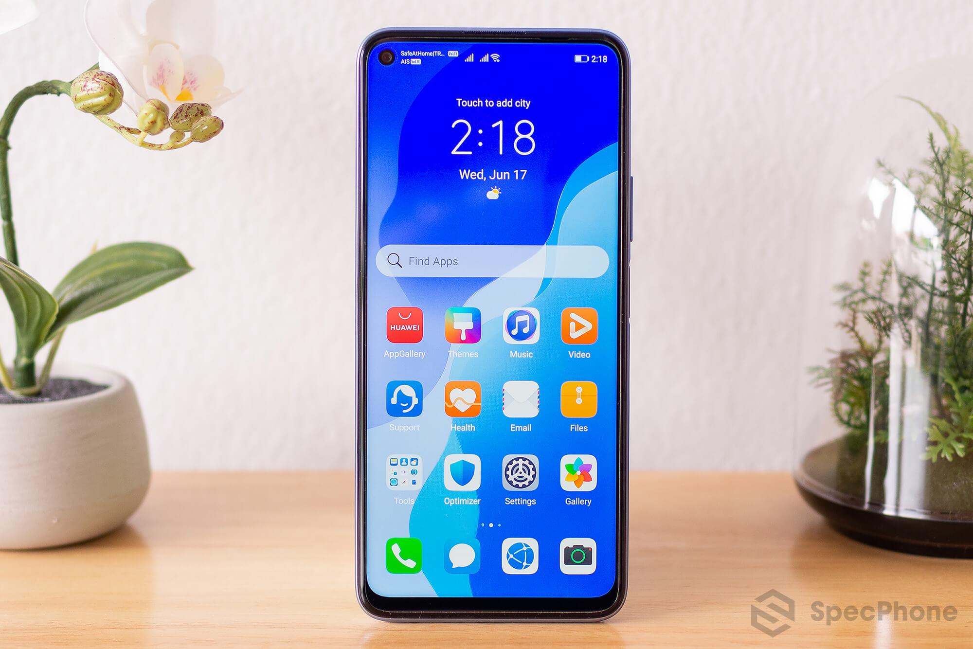 Review Huawei nova 7 SE SpecPhone 9