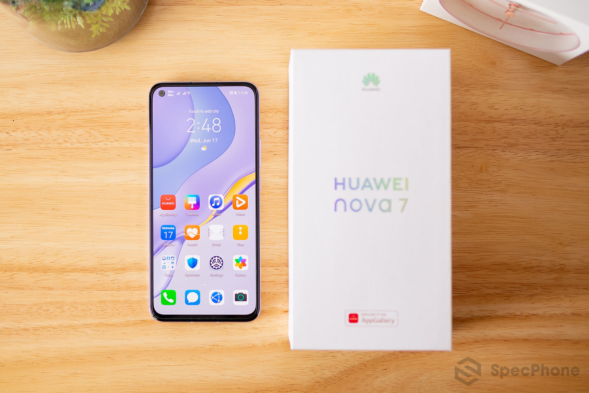 Review Huawei nova 7 SpecPhone 3