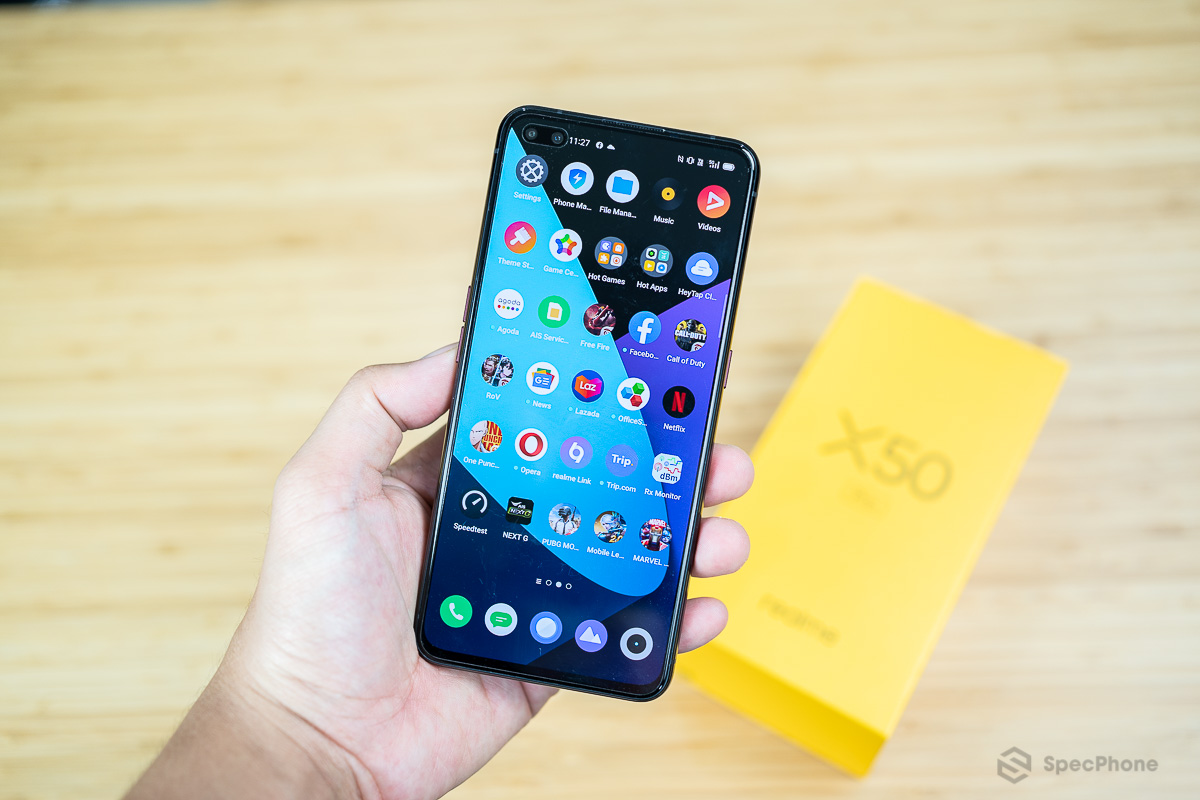 Review reame X50 Pro 5G SpecPhone 00035