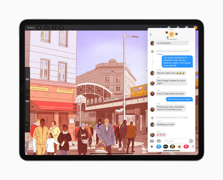 apple ipados14 messages reply 062220