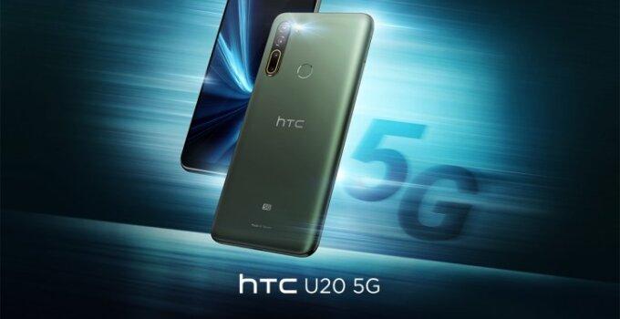 HTC กลับมาแล้วกับ U20 5G และ Desire 20 Pro