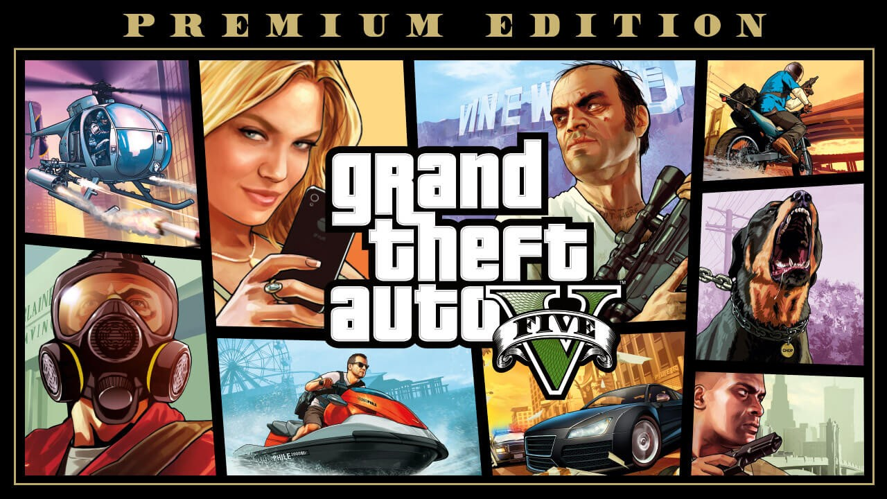 GTA V Premium Edition from Epic Games