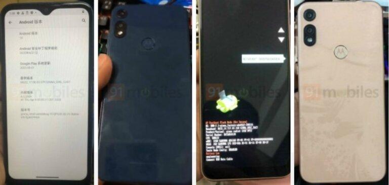 Moto E7 leaked