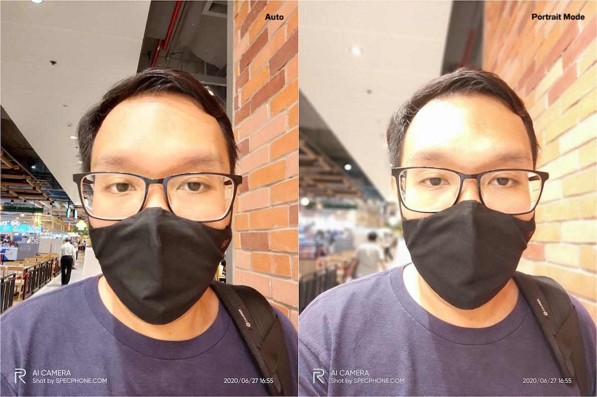 Shot on realme X50 Pro 5G Selfie